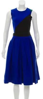 Preen Line Sleeveless Midi Dress