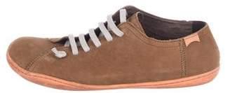 Camper Suede Low-Top Sneakers