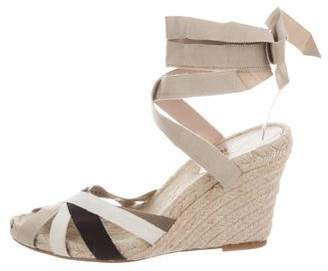Salvatore Ferragamo Open-Toe Wedge Sandals