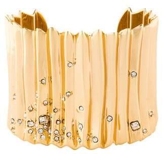 Alexis Bittar Crystal Cuff Bracelet