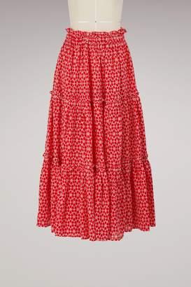 Lisa Marie Fernandez Ruffle skirt