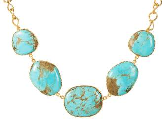 Christina Greene - Statement Necklace in Turquoise