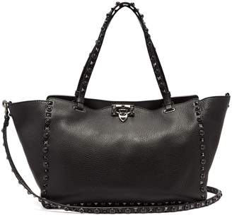 Valentino Rolling Rockstud medium leather tote