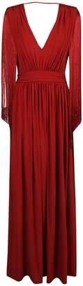 Alberta Ferretti Side Slit Dress
