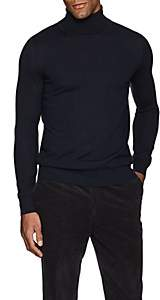 Brioni Men's Fine-Gauge Cashmere Turtleneck Sweater - Navy