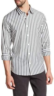 Vince Multi Stripe Regular Fit Shirt