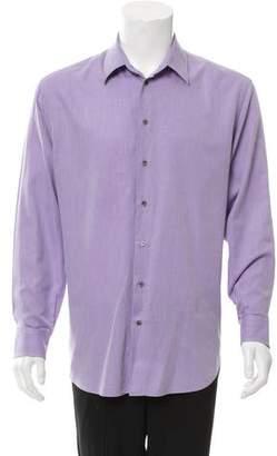 Giorgio Armani Striped Button-Up Shirt