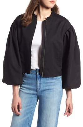Halogen Blouson Sleeve Jacket (Regular & Petite)
