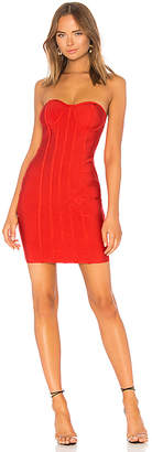 by the way. Alina Strapless Bandage Dress