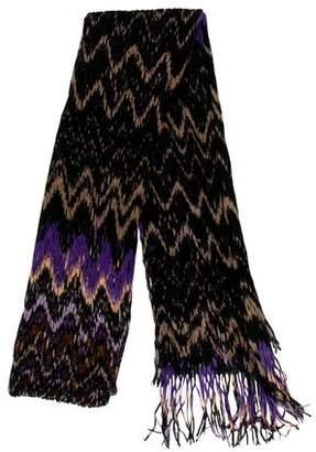 Missoni Silk & Wool -Blend Fringe Scarf