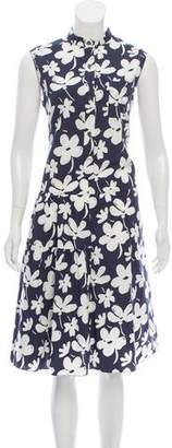 Marni Summer Sleeveless Midi Dress