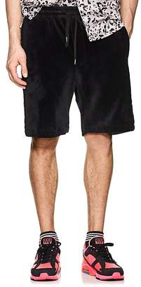 Stampd Men's Headland Velour Track Shorts