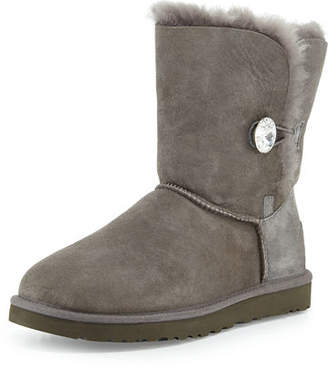 UGG Bailey Bling Button Boot $220 thestylecure.com