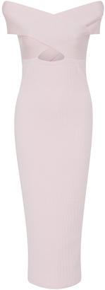 Cushnie et Ochs Crossover Bateau Neck Pencil Dress $995 thestylecure.com