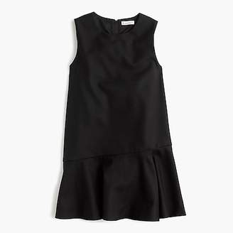 J.Crew Girls' flutter-hem flannel dress