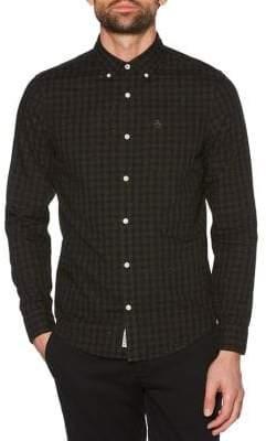 Original Penguin Slim-Fit Gingham Shirt