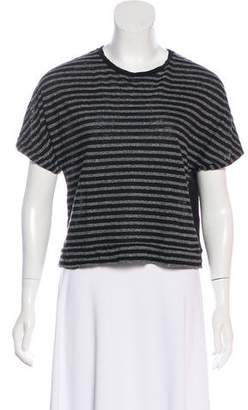 Rag & Bone Stripe Short Sleeve Top