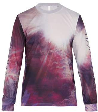 Cottweiler Long Sleeved Technical Jersey T Shirt - Mens - Purple