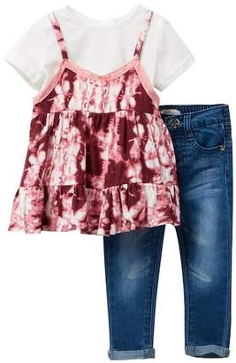 Jessica Simpson 2-Piece Top & Denim Pants (Baby Girls)