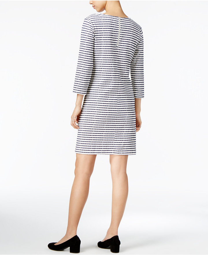 Maison Jules Striped Shift Dress, Only at Macy's 2