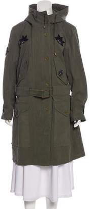 Figue Hooded Military Jacket w/ Tags