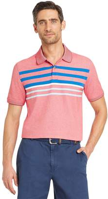 Izod Men's SportFlex Classic-Fit Striped Stretch Performance Polo