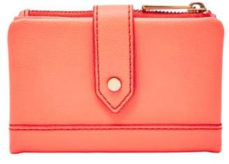 Fossil Lainie Multifunction Wallet Neon Red
