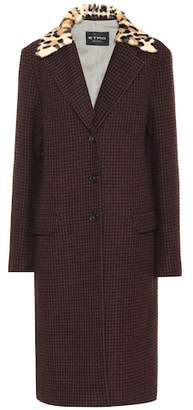 Etro Checked wool coat