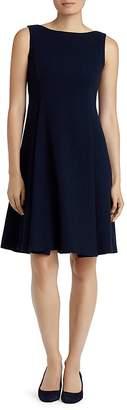 Lafayette 148 New York Nina Pleated Wool Dress $498 thestylecure.com