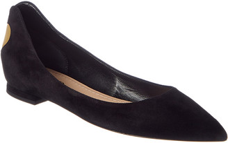 Christian Dior Dioramour Suede Ballet Flat