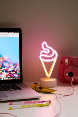 Urban Outfitters Ice Cream Mini LED Neon Table Lamp