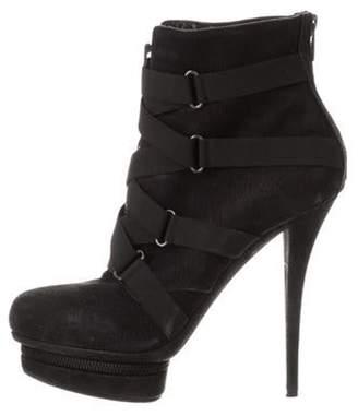 Le Silla Platform Ankle Boots Black Platform Ankle Boots
