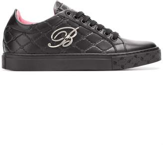 Blumarine monogram sneakers