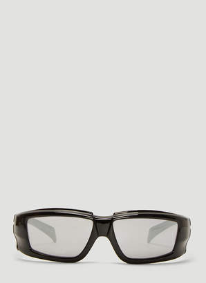 Rick Owens Larry Sunglasses in Black