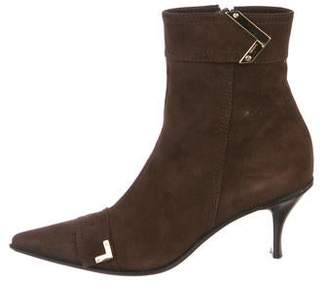Casadei Suade Ankle Boots