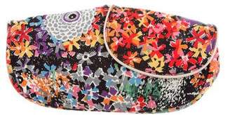 See by Chloe Floral Print Canvas Clutch