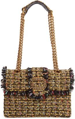 Kurt Geiger London Mayfair Tweed Shoulder Bag