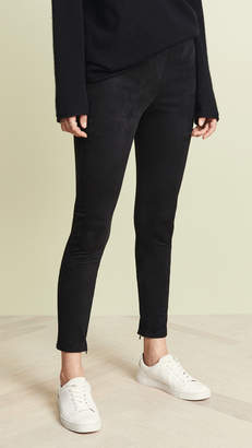 Velvet Faux Suede Leggings
