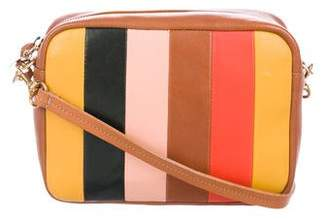 Clare Vivier Midi Striped Crossbody Bag