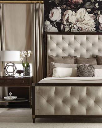 Bernhardt Clarendon Tufted Queen Bed