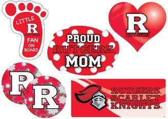 Kohl's Rutgers Scarlet Knights Proud Mom 6-Piece Decal Set