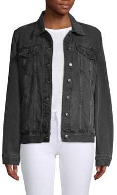 Joe's Jeans Relaxed-Fit Button Front Jacket