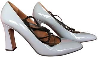 Valentino Blue Patent leather Heels