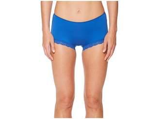 Hanky Panky Cotton Shirred Back Panty Women's Underwear