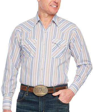 Ely Cattleman Stripe Western Shirt
