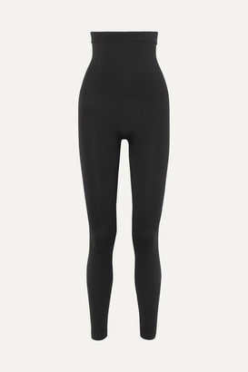 Spanx Look At Me Now Stretch-jersey Leggings - Black