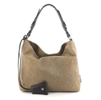 Louis Vuitton Green Leather Handbag