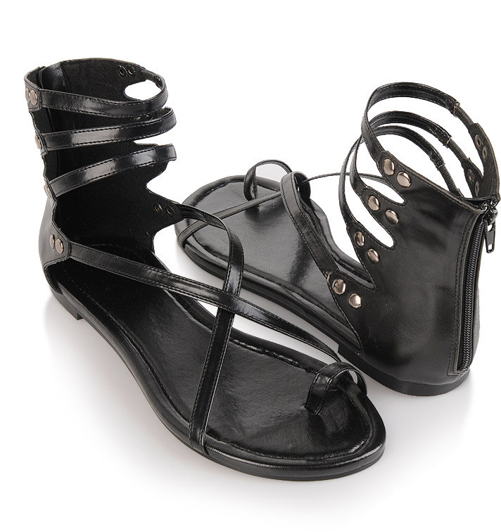 Toe Ring Gladiator Sandals