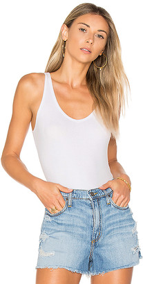 ATM Anthony Thomas Melillo BODYSUIT Vネックタンクボディスーツ
