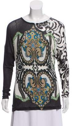 Etro Printed Knit Top